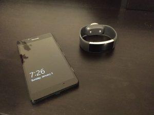 Microsoft phone and watch